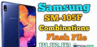 Samsung SM-A105F Combination File U1,U2,U3
