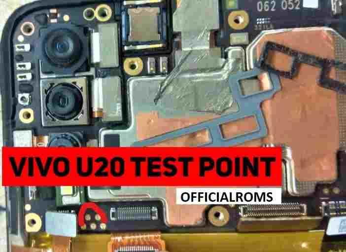 Vivo U20 Test Point