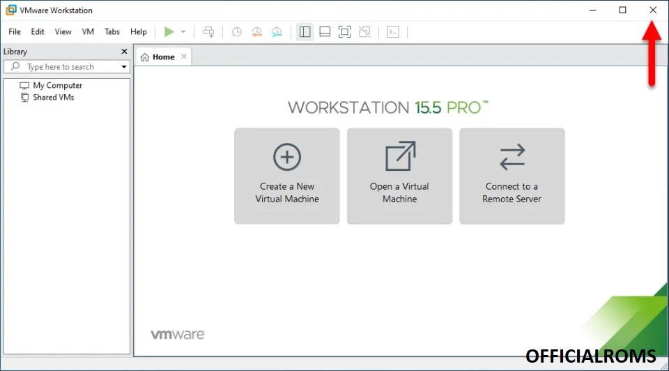 Vmware Unlock Step 1