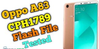 oppo a83 flash file CPH1729 Tested Firmware Stock ROM