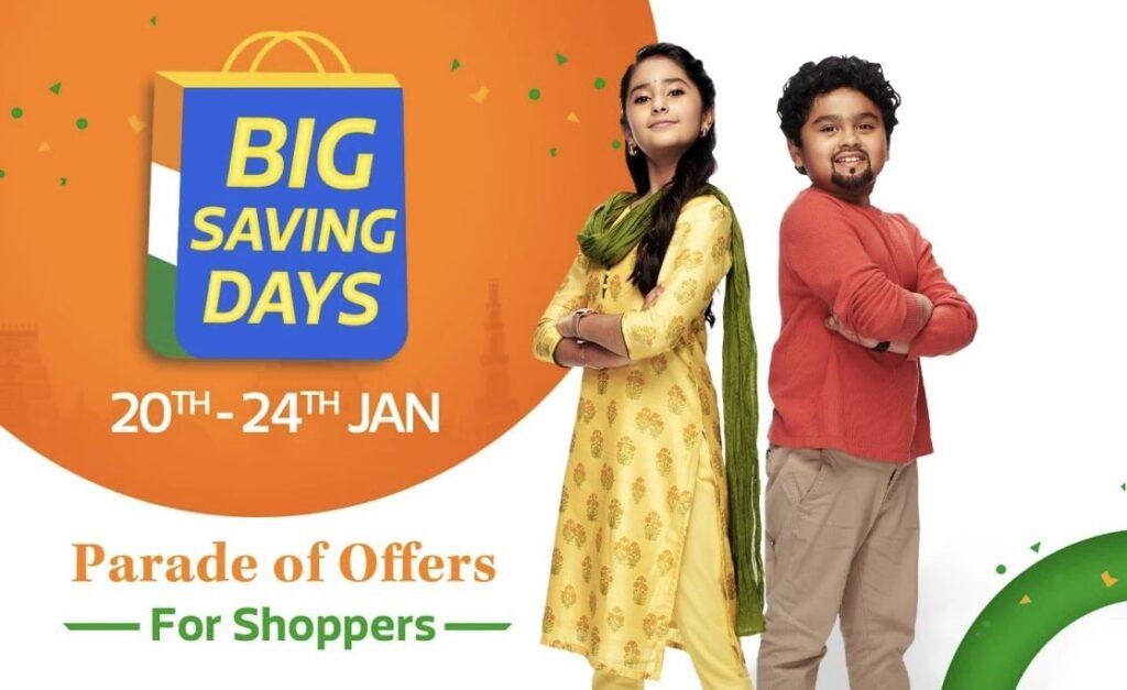 Flipkart Big republic day 2021 Sale Live Best Offers on Smart Phones
