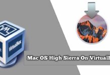 Install macOS High Sierra in VirtualBox on Windows