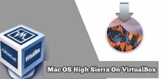 Install macOS High Sierra in VirtualBox on Windows