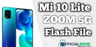 Mi 10 Lite Zoom 5G Youth Flash File Firmware (Stock ROM)