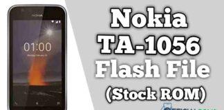 Nokia 1 TA-1056 Flash File Firmware (Stock ROM)