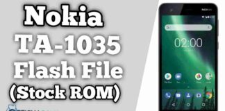 Nokia 2 TA-1035 Flash File Firmware (Stock ROM)