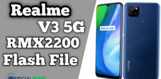 Realme V3 5G RMX2200 Flash File (Firmware)