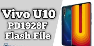 Vivo U10 PD1928F Flash File Firmware (Stock ROM)