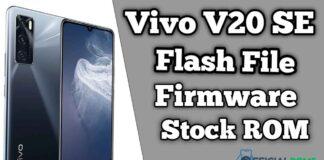 Vivo V20 SE Flash File Firmware (Stock ROM)