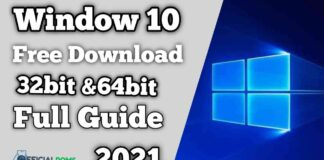 Window 10 Free Download 32bit & 64Bit (Full Guide) 2021