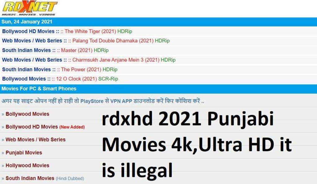 rdxhd 2021 Punjabi Movies 4k,Ultra HD it is illegal