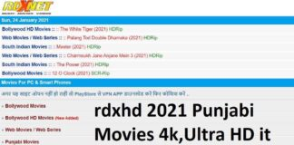 rdxhd 2021 Punjabi Movies 4k,Ultra HD it is illegal