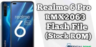 Realme 6 Pro RMX2063 Flash File (Firmware)