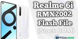 Realme 6i RMX2002 Flash File (Firmware)