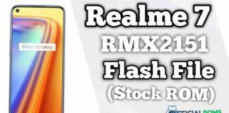 Realme 7 RMX2151 Flash File (Firmware)