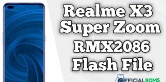 REALME X3 SUPERZOOM RMX2086 Flash File (Firmware)