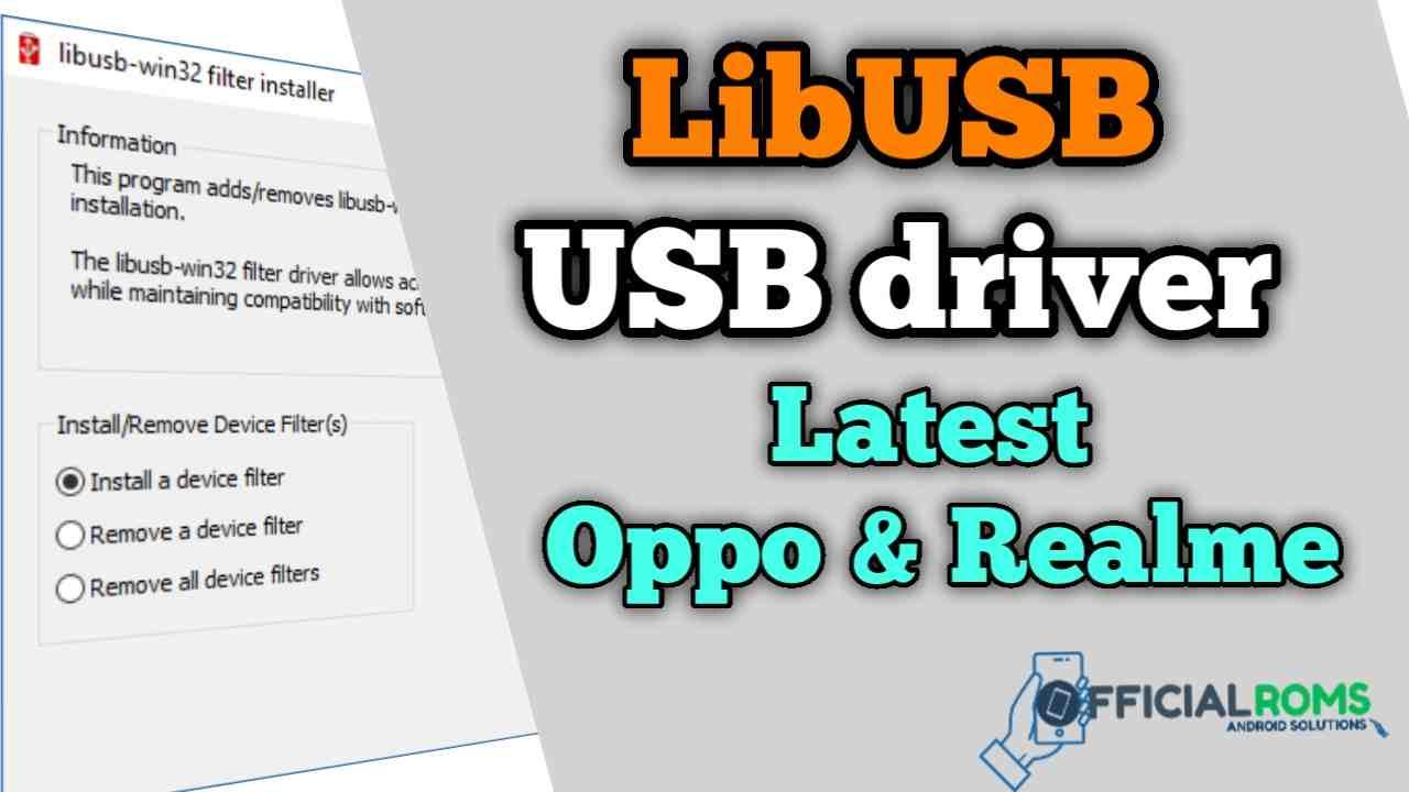 Libusb win32 Driver Latest Version 2021 | New Update