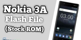 Nokia 3A Flash File Tested Firmware (Stock ROM)