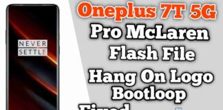 Download Oneplus 7T Pro 5G McLaren flash file Stock ROM
