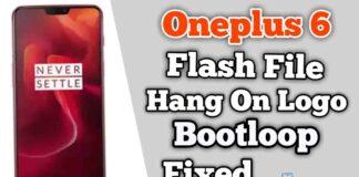 OnePlus 6 Flash File Firmware (Stock ROM)