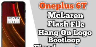 Download Oneplus 6T McLaren Flash file Stock ROM