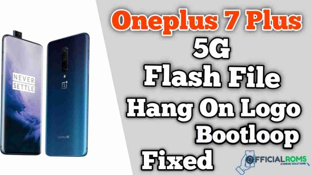 Download Oneplus 7 plus 5G flash file Stock ROM