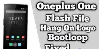 OnePlus one Flash File Firmware (Stock ROM)