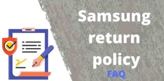 Samsung return policy FAQ |India & USA
