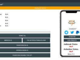 ZionGSM Tool beta Free Download - unlock unlimited devices