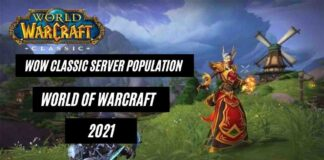 Best Game wow classic server population World of WarCraft