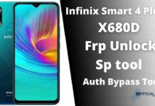 Infinix Smart 4 Plus X680D Frp Unlock Using Sp tool offline
