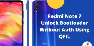 Redmi Note 7 Unlock Bootloader Without Auth Using QFIL