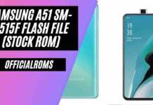 Samsung A51 SM-A515F Flash File (Stock ROM) 2021
