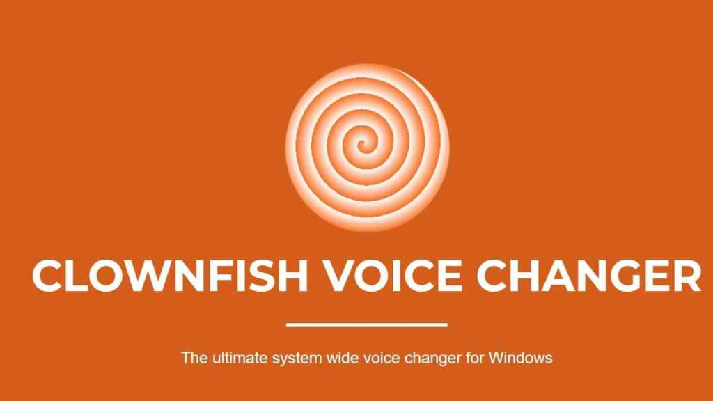 Clownfish Voice Changer in Discord Download That For Fun