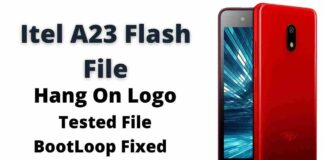 Itel A23 Flash File Latest Firmware (Stock ROM)