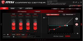MSI Command Center Analysing your Laptop & PC