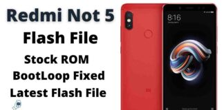 Redmi Note 5 Flash File Firmware Tested (Stock ROM)