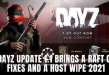 dayz update 1.12 brings a raft of fixes and a Host wipe 2021