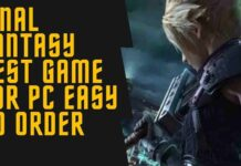 final fantasy Best Game For PC Easy in Order