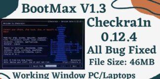 BootMax Checkra1n