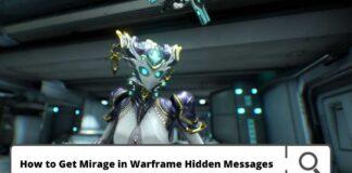 warframe hidden messages
