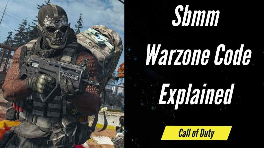 Sbmm Warzone Code Explained   Call of Dudy 2021