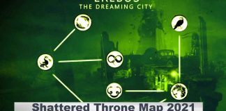 Shattered Throne Map 2021 |Dream city, Map Image