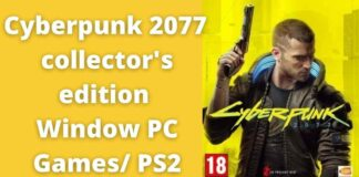 cyberpunk 2077 collector's edition Window PC Games/ PS2
