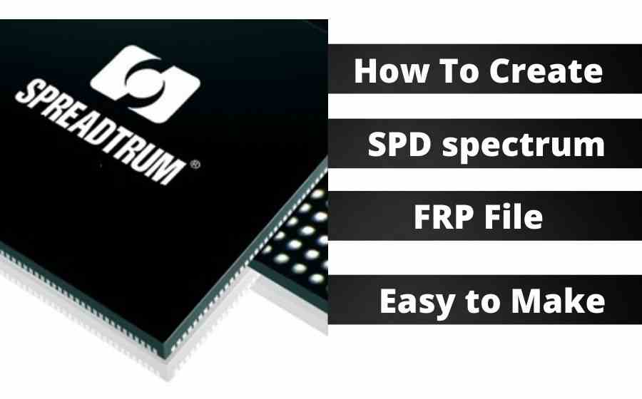 How To Create SPD spectrum FRP File Easy to Make