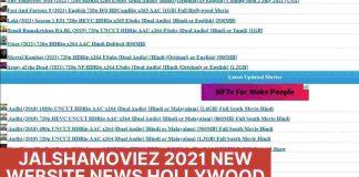 Jalshamoviez 2021 New Website News Hollywood Dubbed