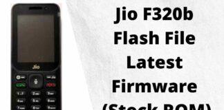 Jio F320b Flash File Latest Firmware (Stock ROM)