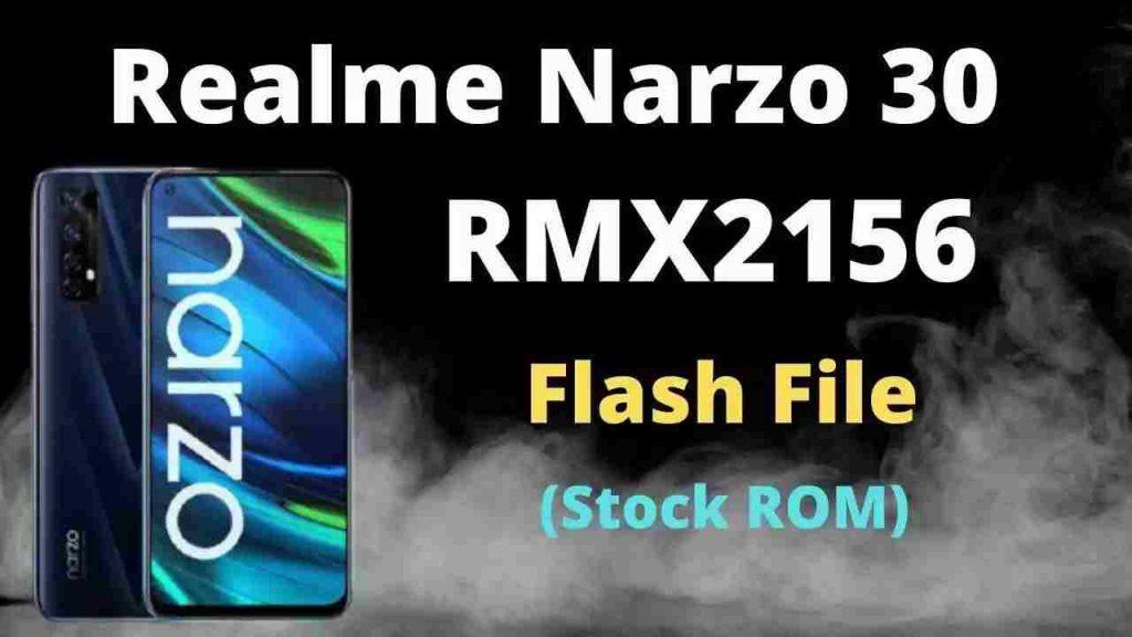Realme Narzo 30 RMX2156 Flash File (Stock ROM)