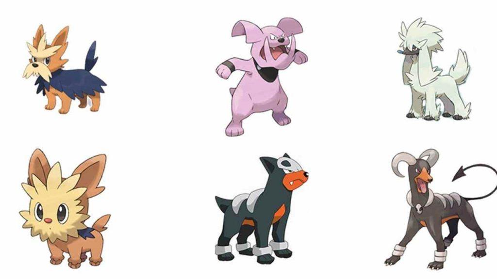 Every dog Pokemon Full Listed & Detail 2021