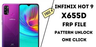 Infinix Hot 9 X655D Frp File Easy To Unlock